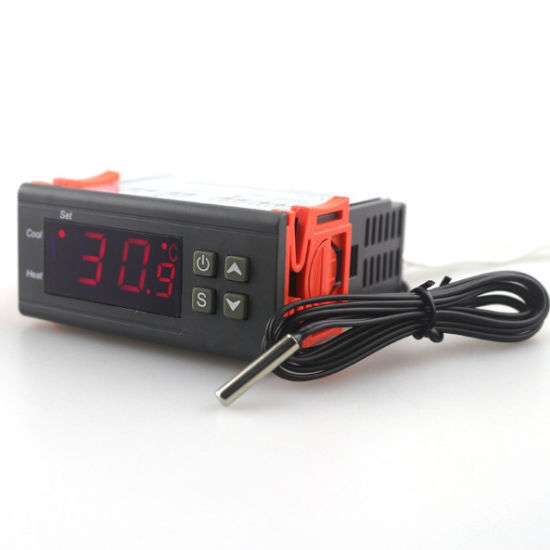 Digital Temperature Controller STC-1000 Thermoregulator thermostat With Sensor