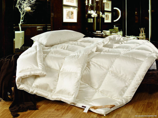 Classic Luxury White 30% Goose Down 70% Feather Duvet Duck Down Quilt
