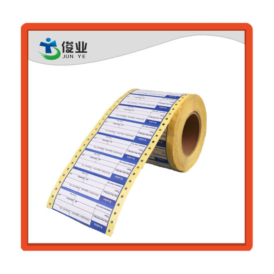 Wholesale Customized Printing Roll Self Adhesive Sticker Label