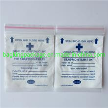 LDPE Zip Lock Plastic Medicine Bag/Plastic Zip Bag/LDPE Zip Lock Bag