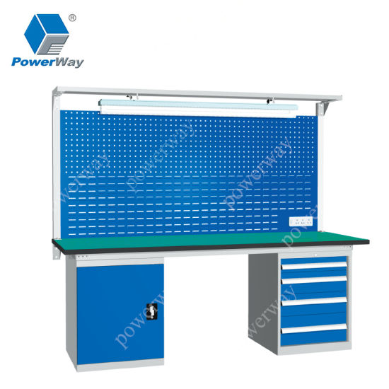 Standard Steel Structure Industrial Tool Hardware Workbench