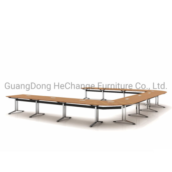 Modern Wooden Office Conference Room Executive Meeting Table