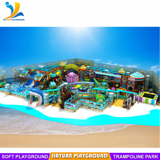 Ocean Themes Indoor Playground for Kids Fun
