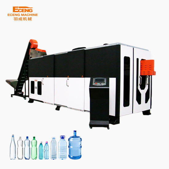 100ml-20L Automatic Pet Bottle Blowing Machine / Plastic Bottle Blow Making Moulding Machine Price/ Water Pet Container Molding Machine