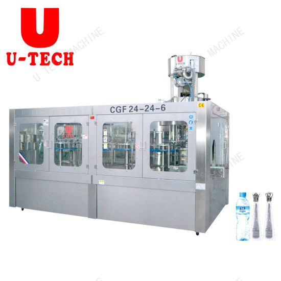 Automatic Drinking Mineral Water Production Filling Line/Water Bottling Line