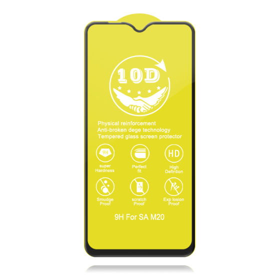 10d Tempered Glass for Samsung Ma 20, G530, J2 Core, A60