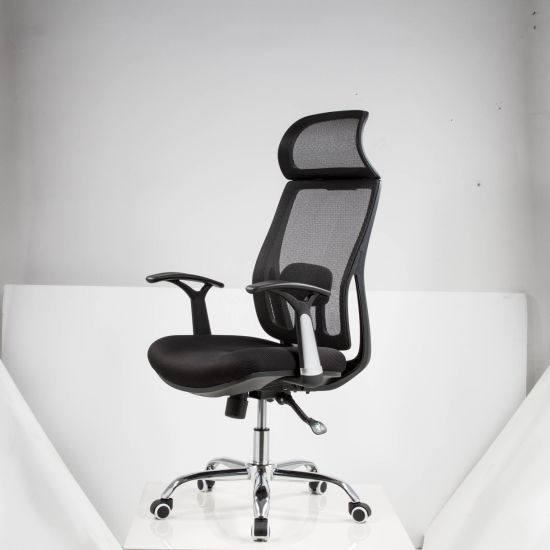Quality High Back Mesh Desk Chair with 3D Armrest Rest Lumbar Support Home Office Furniture