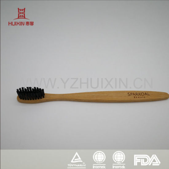 Good Quality Bamboo Toothbrush for Hotel Use with SGS Approval