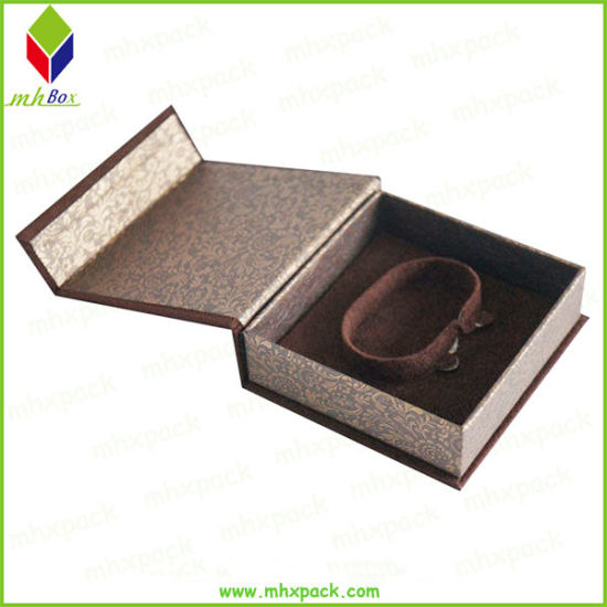 Foldable Cardboard Magnetic Rigid Paper Jewelry Packaging Box