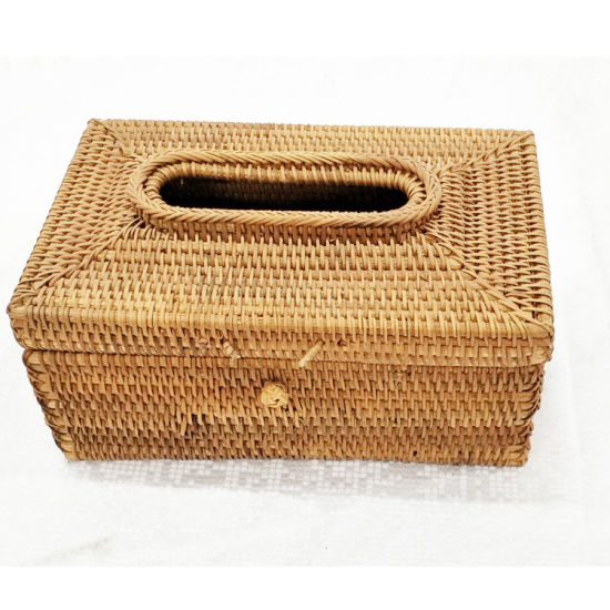 Rattan Rectangular Tissue Box/Cover pictures & photos