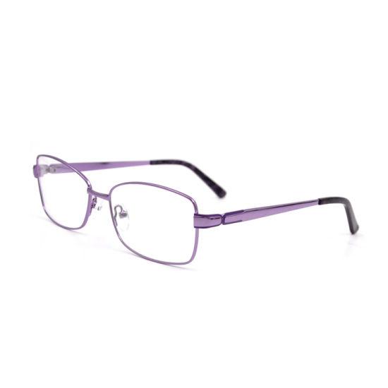 China Factory Promotion Fashion Eyeglasses Glass Frame for Girls Classic Women Glasses