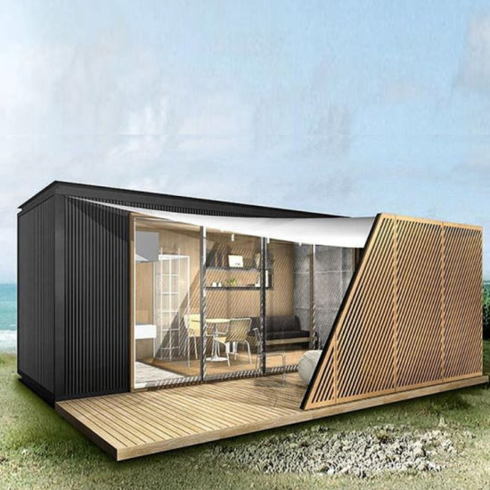 40 Foot Sandwich Panel Container House Shipping Container House pictures & photos