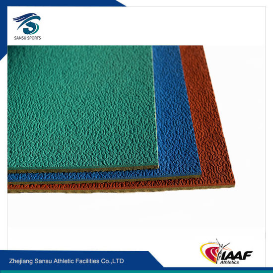 Rubber Flooring Roll Material for Basketball/Volleyball/Badminton Court