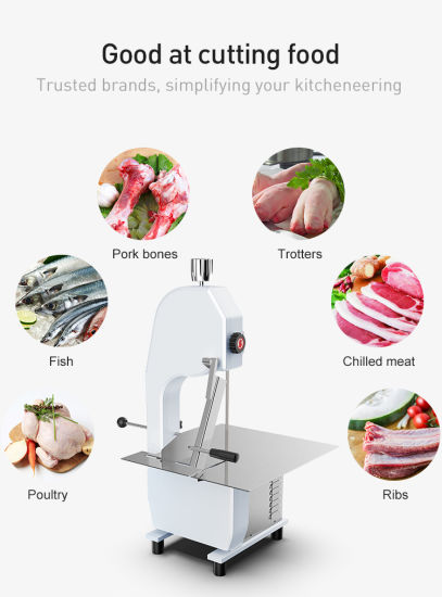 China Wholesale Price Frozen Electric Beef Pig Fish Meat Cutting Bone Saw Machine