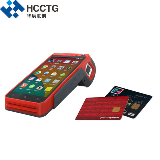 Hot EMV&PCI Android POS Terminal with 58mm Thermal Printer (Z100)