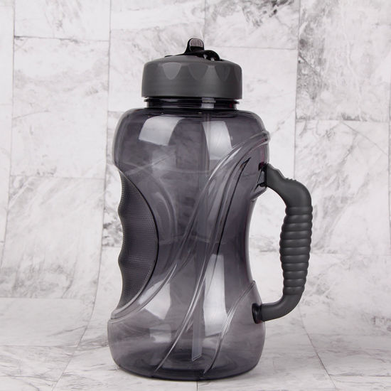 Big Large Water Bottle BPA Free Sport Gym Leakproof Drink Cup Kettle Outdoor x 1