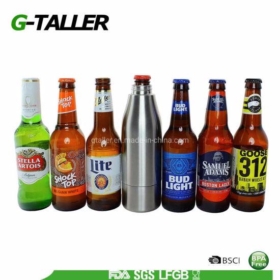 Double Wall Vacuum Stainless Steel Water Bottle Beer Cooler