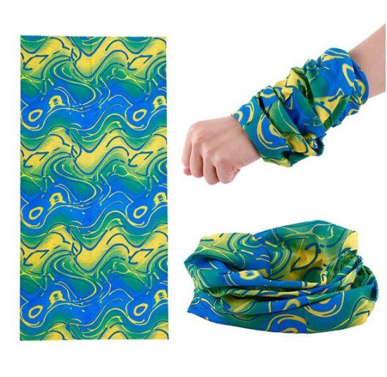 Polyester Multi-Functional Neck Tube Scarf Custom Seamless Bandana