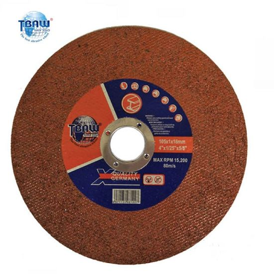 "4""Super Thin Abrasive Stainless Steel Cutting Wheel"
