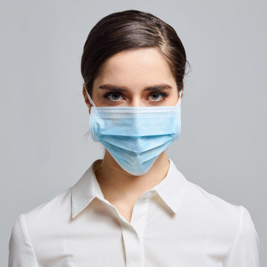 Factory Directly Fast Delivery Disposable Non Woven 3ply Facemask