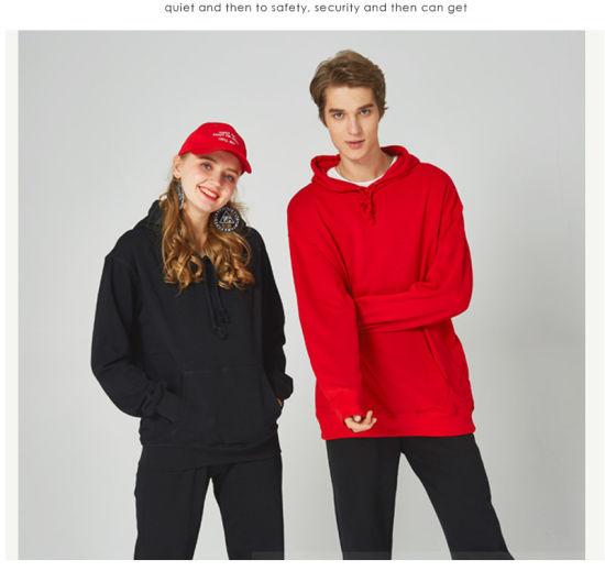 OEM Custom Wholesale Blank Pullover Hoodies Men