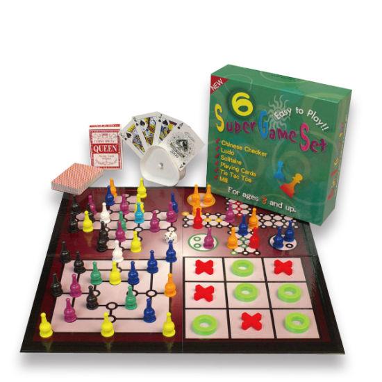 Family Fun Cardboard Professional Gambling Games Adult Easy Portable Bingo Board Game Set