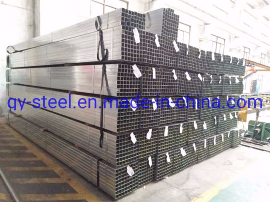 Welded Pre Galvanized Shs Chs Rhs Rectangle /Square Carbon Steel Pipe and Tubes