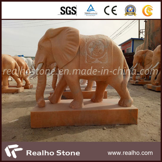 Factory Price Animals Stone Carving and Sculpture for Garden