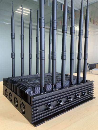 12 Antennas 2g 3G 4G WiFi Lojack GPS Long Range Signal Jammer 6-10W/Band