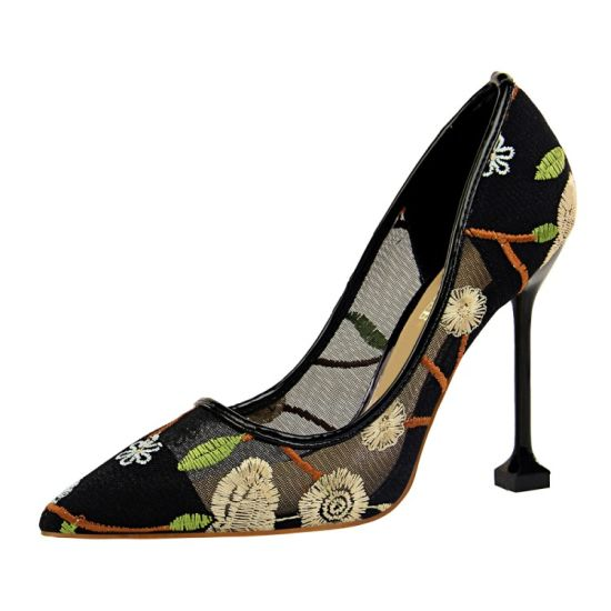 Cheap Price Wholesale Latest Stiletto High Heel Ladies Shoes