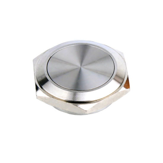 30mm Short Button 1no Stainless Steel Momentary Push Button Switch
