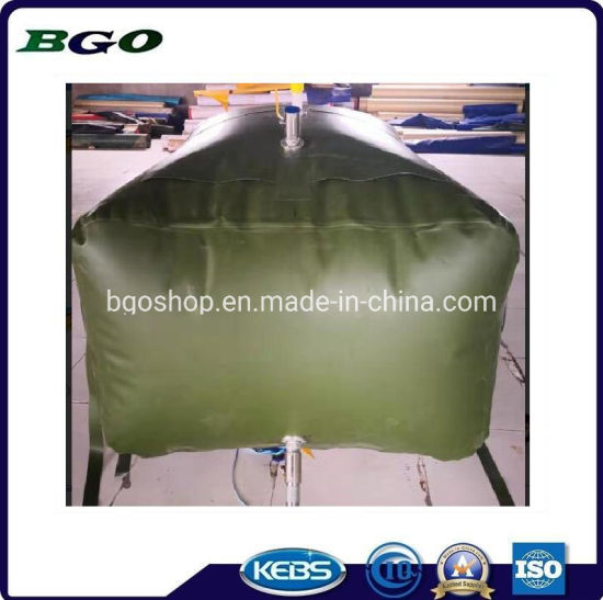 Army Movable 3000L TPU Material Fuel Storage Flexi Tank Gasoline Bladder pictures & photos