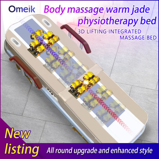 Factory High Quality Magnetic Spine Physiotherapy Jade Massage Bed