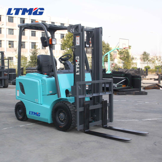 China Mini 1.5 Ton Electric Forklift with Battery