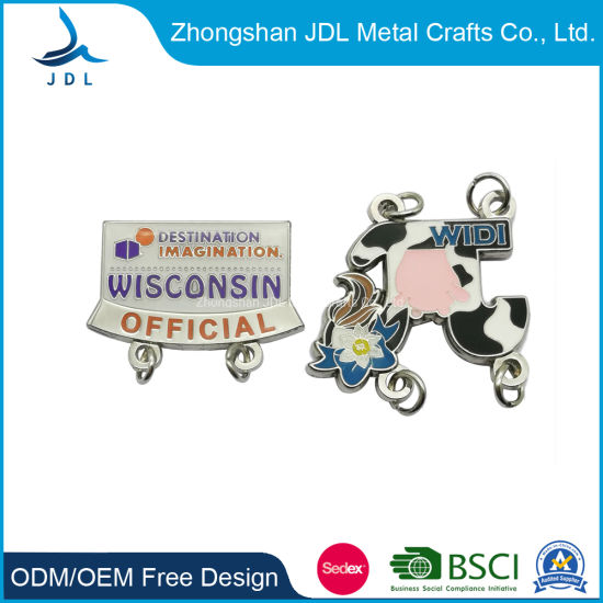 Sug College Pin Badge in Custom From China with Competitive