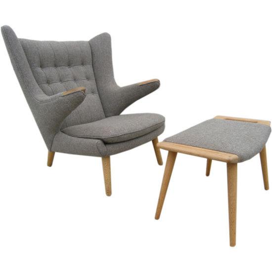 Modern High Wing Back Living Room Sofa Papa Bear Chair