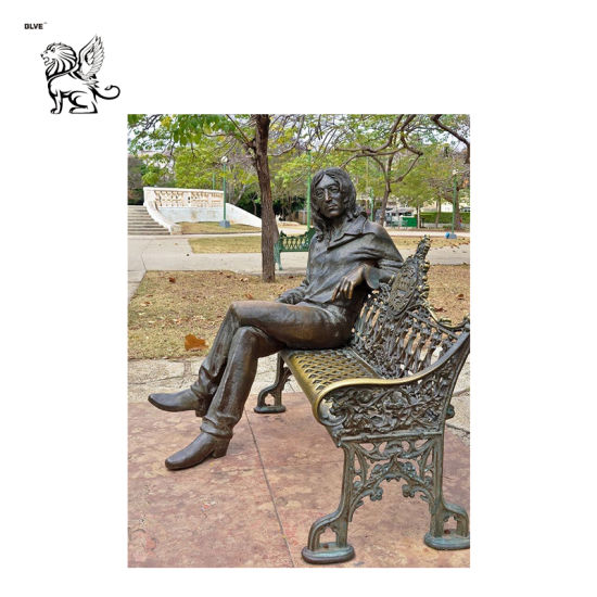 Phenomenal Manufacture Outdoor Garden Brass Chair Statue Bronze Bench Sculpture Bfsm 17 Pabps2019 Chair Design Images Pabps2019Com