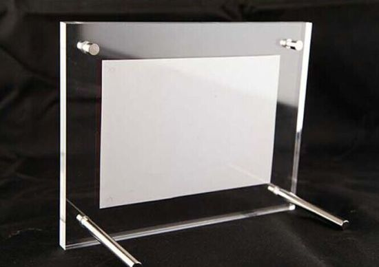 China Clear Acrylic Picture Photo Frame Photo Frame 4X6, 5X7 ...
