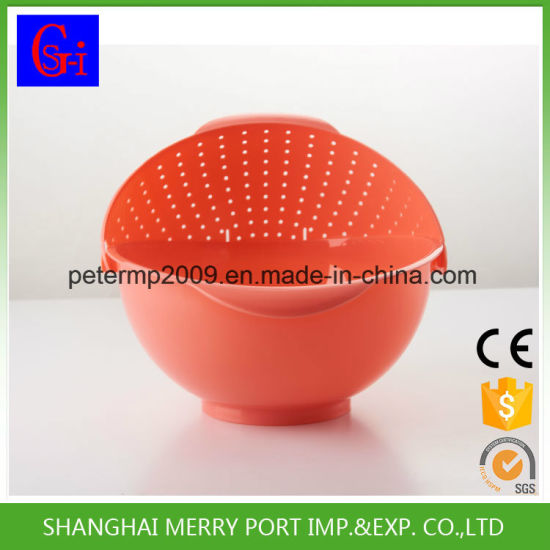 New Products Washing Drain Picnic Plastic Basket pictures & photos
