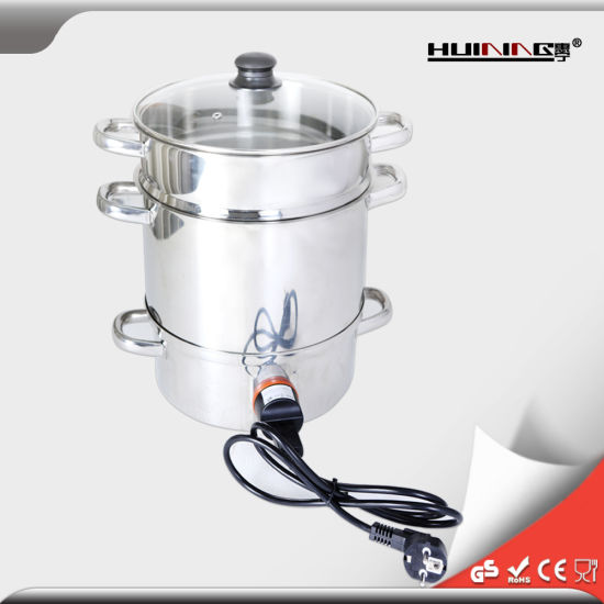 Stainless-Steel Juicer Steamer & Food Steamer pictures & photos