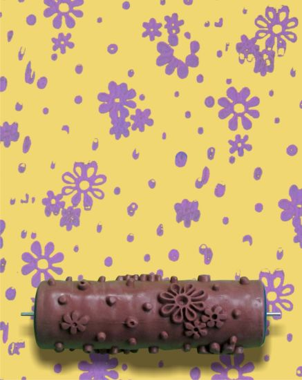 Embossed Wallpaper Tools for Wall Decoration Pattern Painting Roller pictures & photos