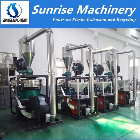 Good Design Plastic PVC PE PP Pulverizer / PVC Milling Machine / Powder Milling Machine pictures & photos