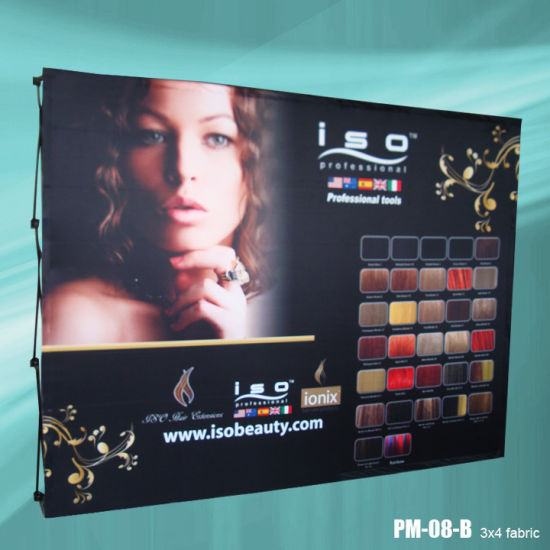 Straight Shape 10ft Tension Fabric Display (PU-08-B) pictures & photos