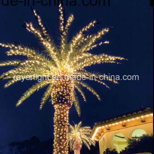 China Commercial Resort Palm Tree Decoration Christmas Led