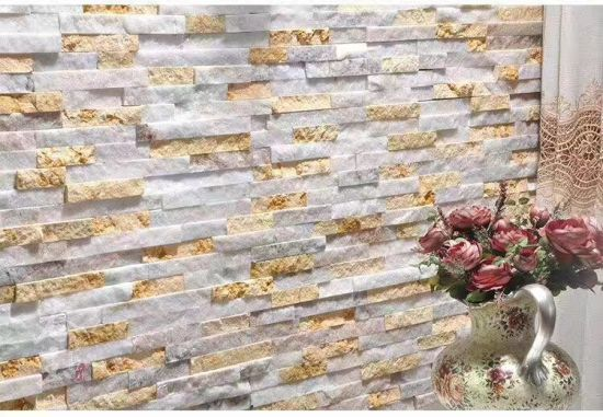 White and Yellow Onyx Tiles/ Mosaic/ Medallion Pattern for Building