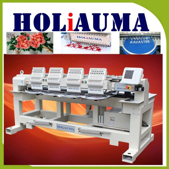China Top Equipment 4 Head T Shirt Embroidery Machine Hat