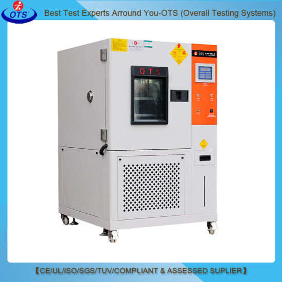PLC Touch Laboratory Temperature Humidity Test Machine of Environmental Climate Chamber