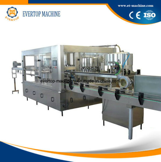 2018 Automatic Pet Plastic Bottle Water Washing Filling Capping Bottling Machine Monoblock Plant Production Line