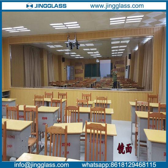 Sound Insulation One Way Mirror Glass In School