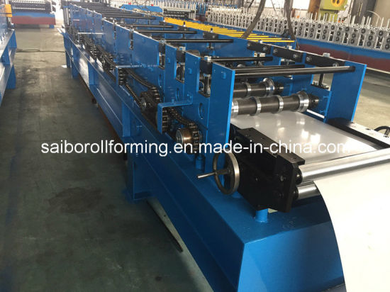 Steel Roof Ridge Cap Roll Forming Machine pictures & photos